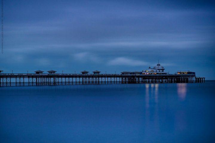 Llandudno Pier - Blue Hour