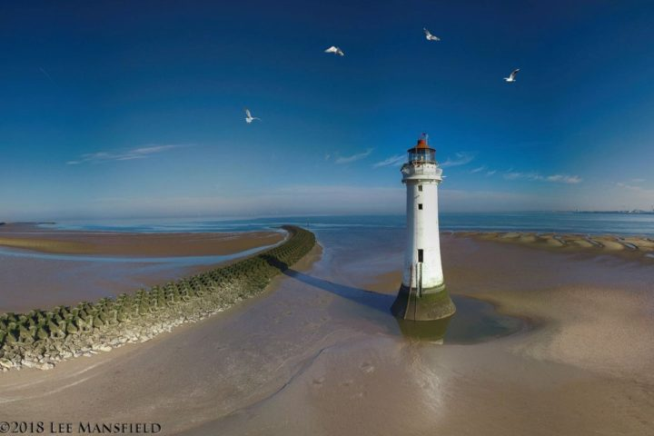 New Brighton Lighthouse or Perch Rock Lighthouse