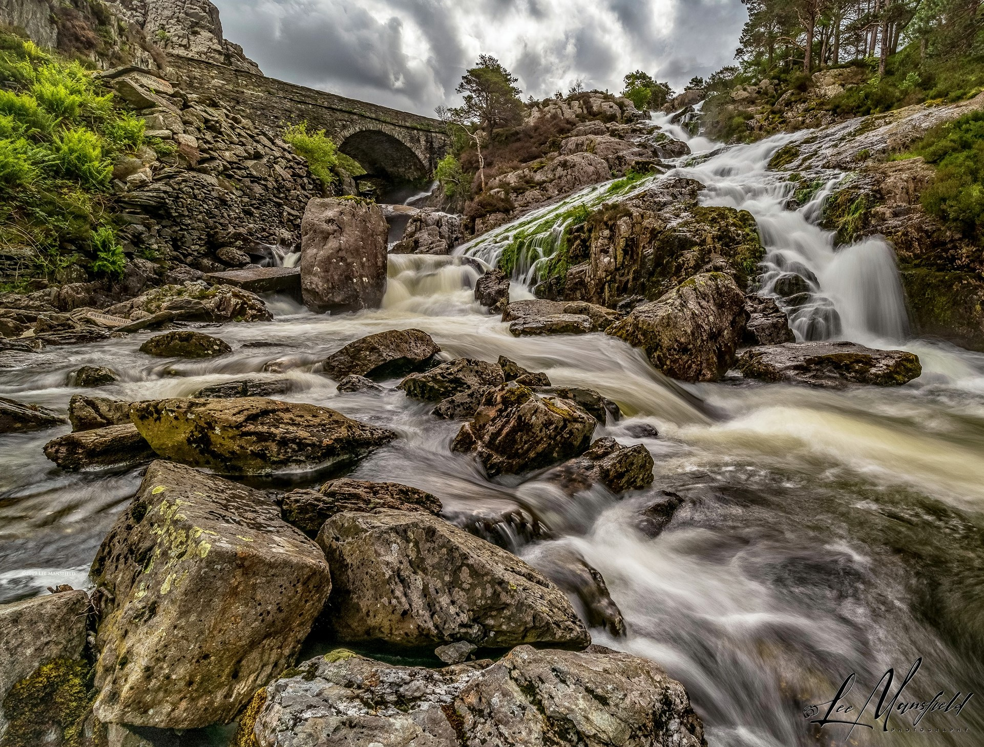 Ogwen Falls, North Wales