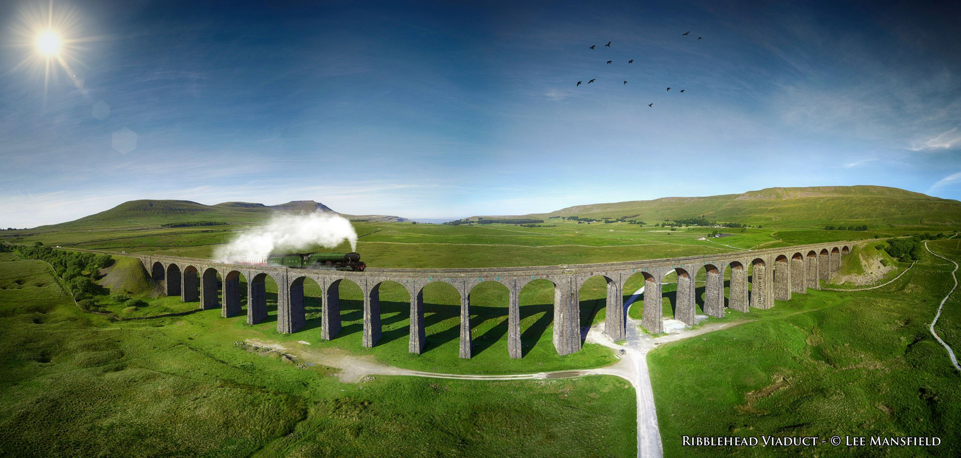 Ribblehead Viaduct - panoramic