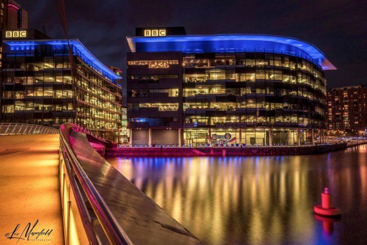Salford Quays BBC Studios