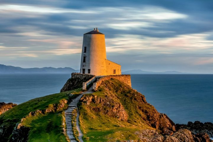 Tŵr Mawr Lighthouse, Llanddwyn on Anglesey Portrait