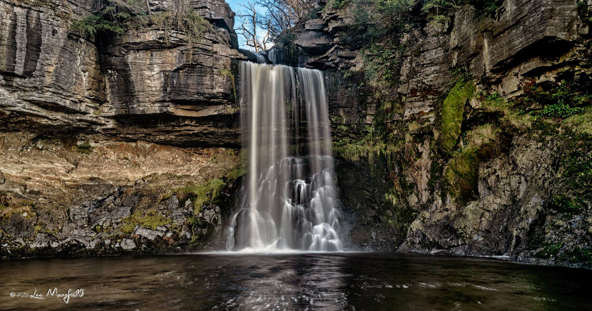 Thornton Force Waterfall, Ingelton Falls