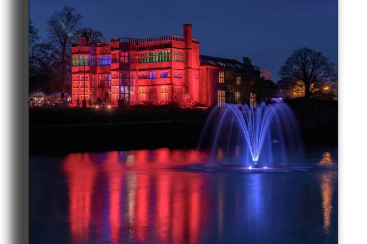 Astley Hall Illumination