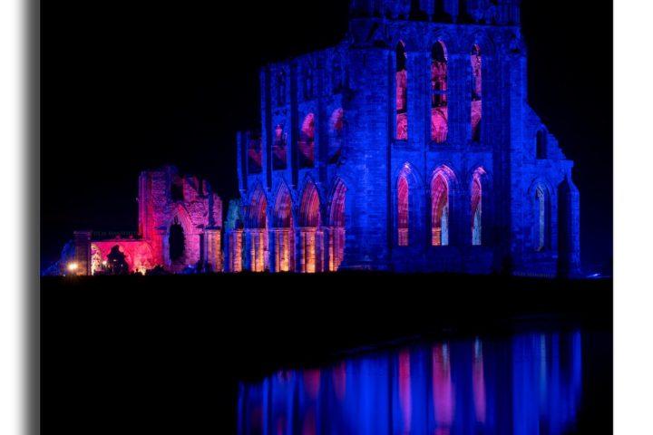 Whitby Abbey Illuminated v1