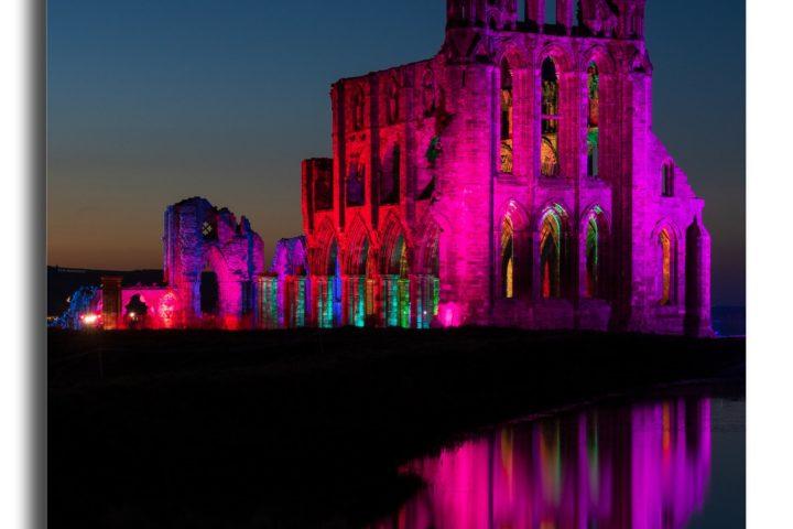 Whitby Abbey Illuminated v2