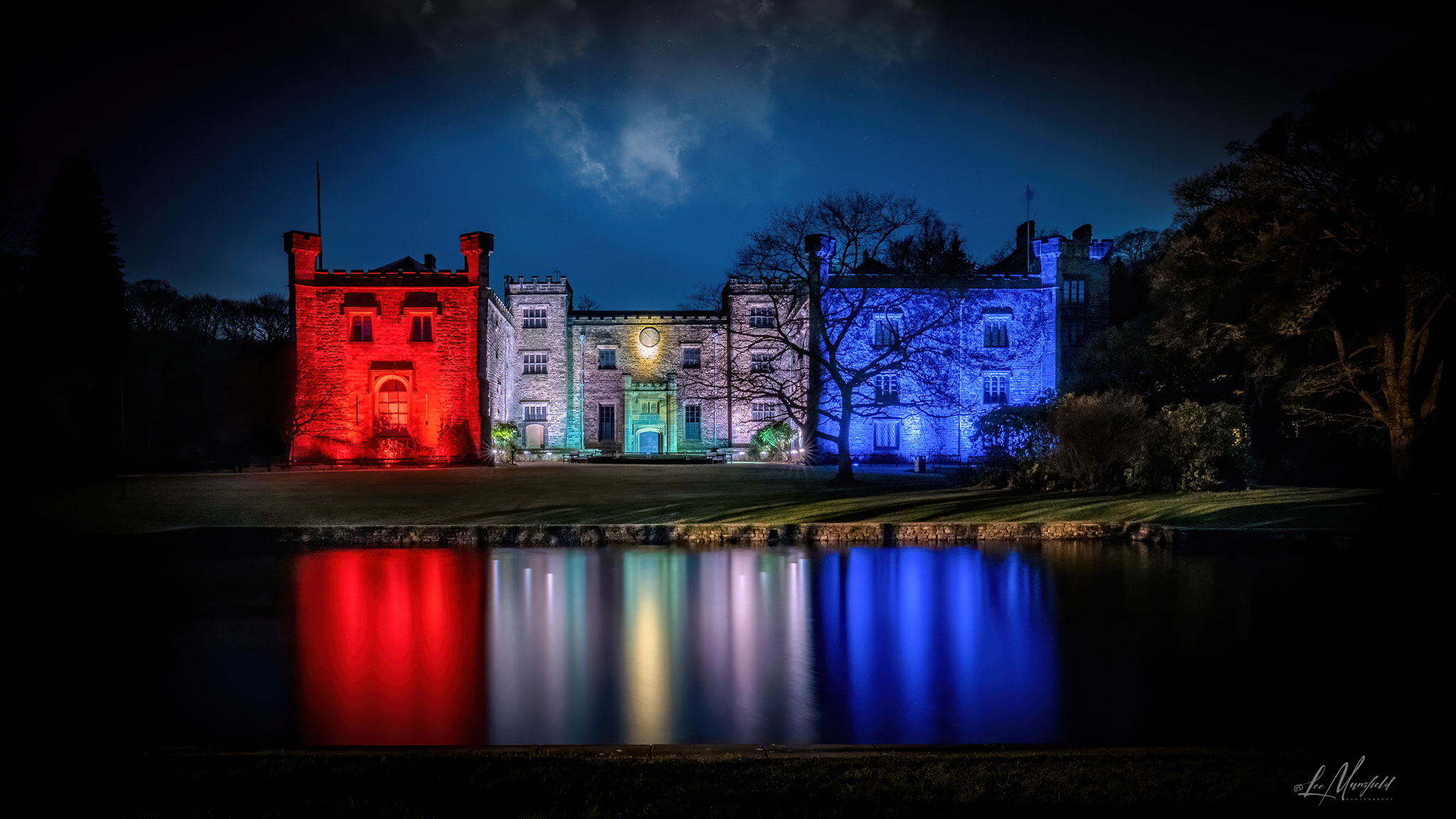 Towneley Hall - Illuminated