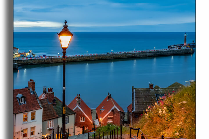 Whitby - 199 Steps - day time
