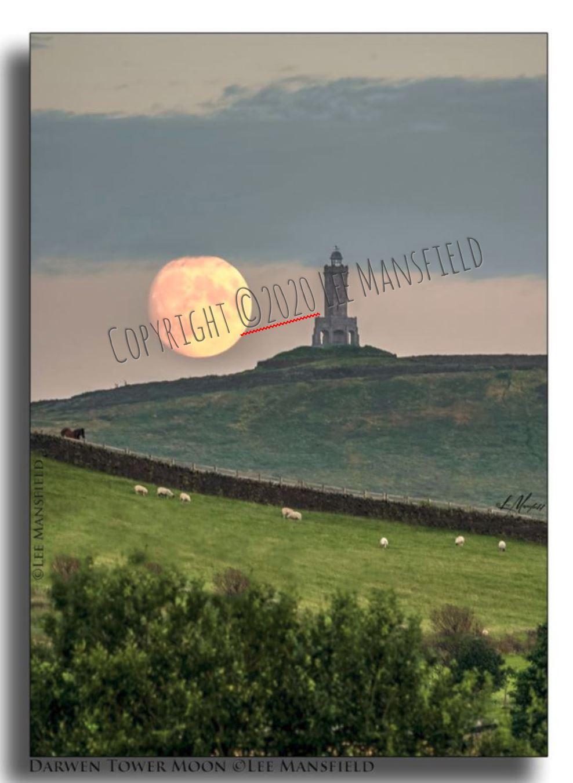 Darwen Tower Moon
