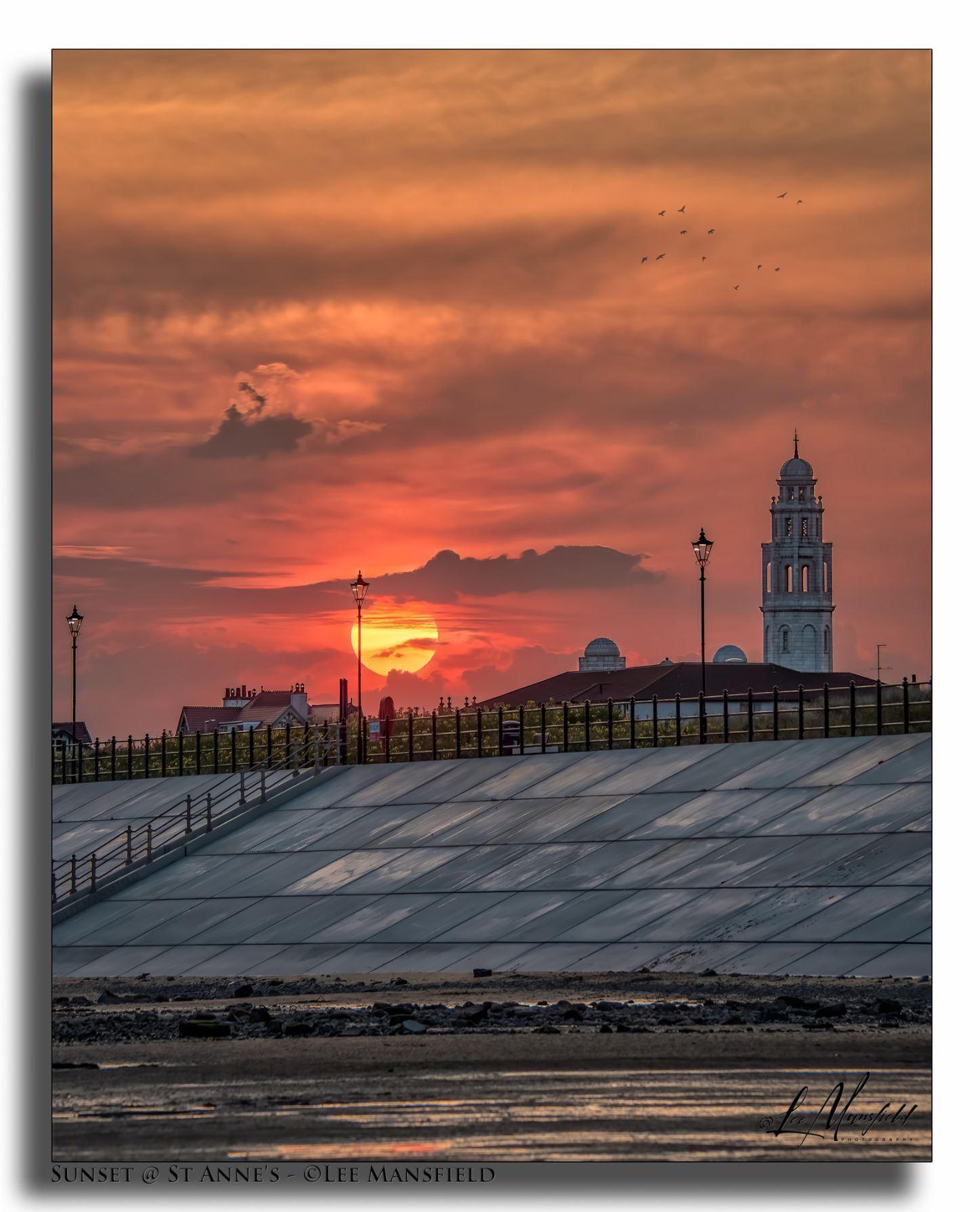 Sunset at Fairhaven