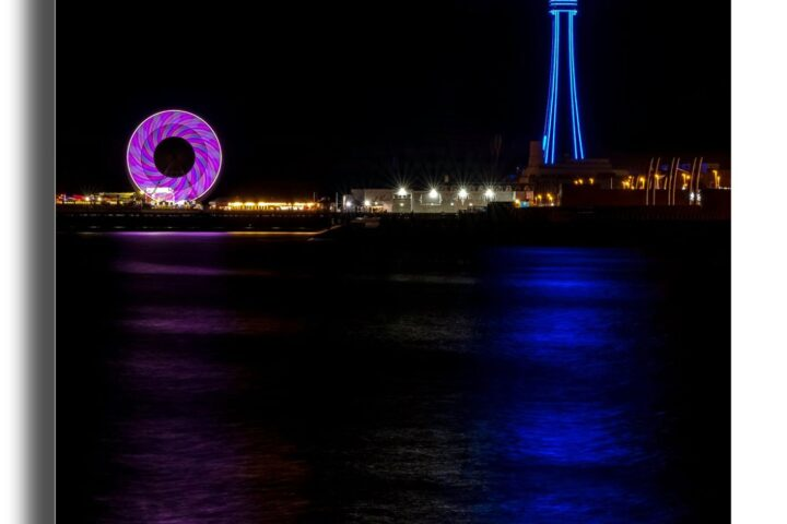Blackpool Tower - illuminated