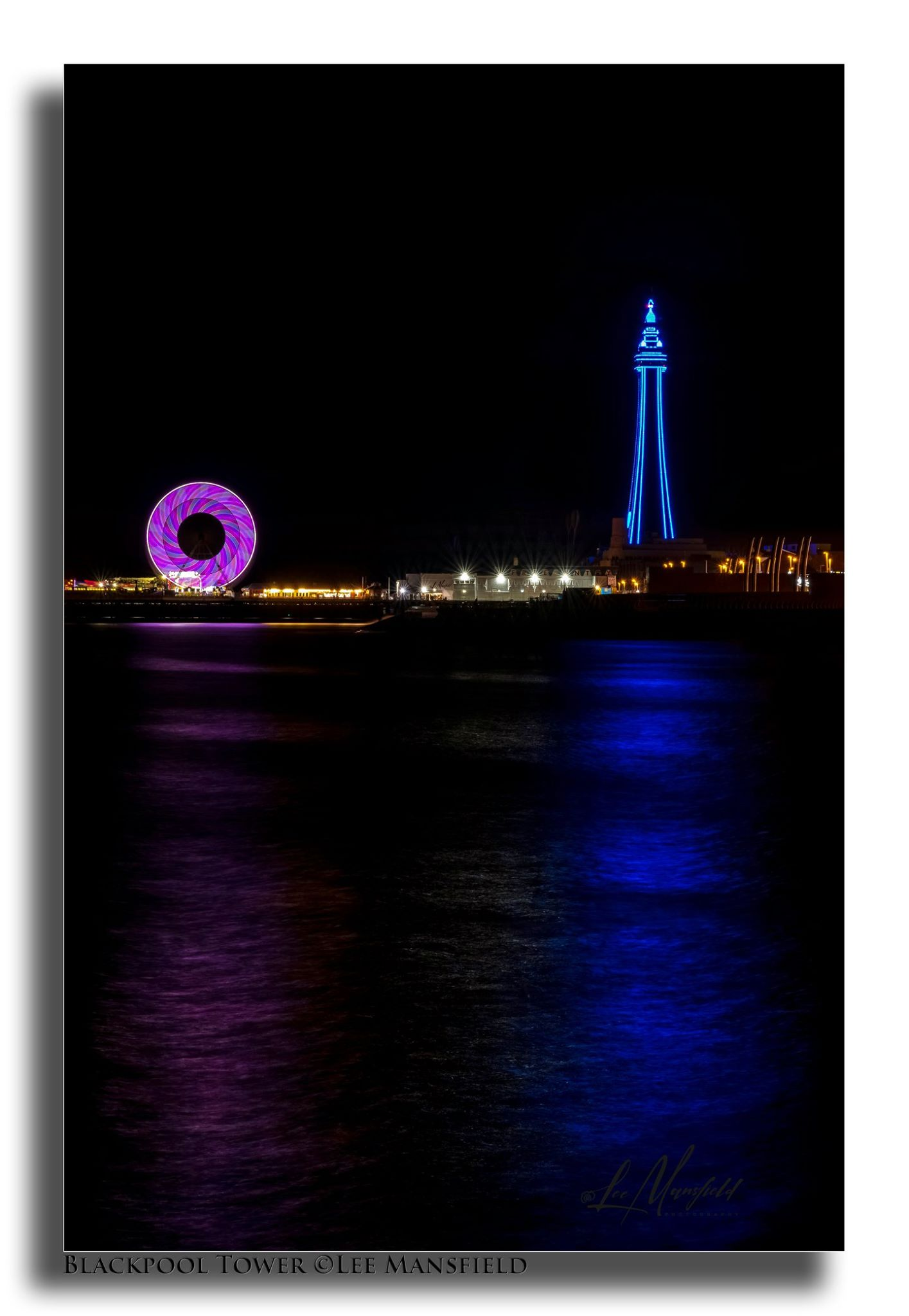 Blackpool Tower - illuminated