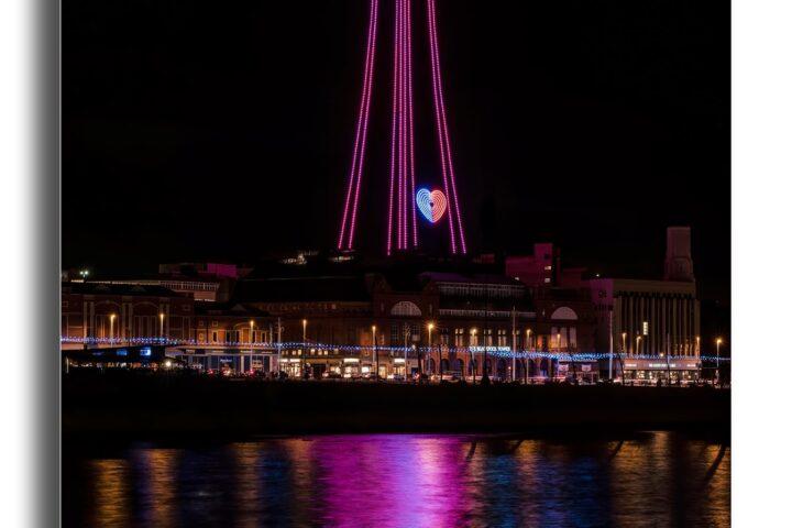 Blackpool Tower - lights fantastic