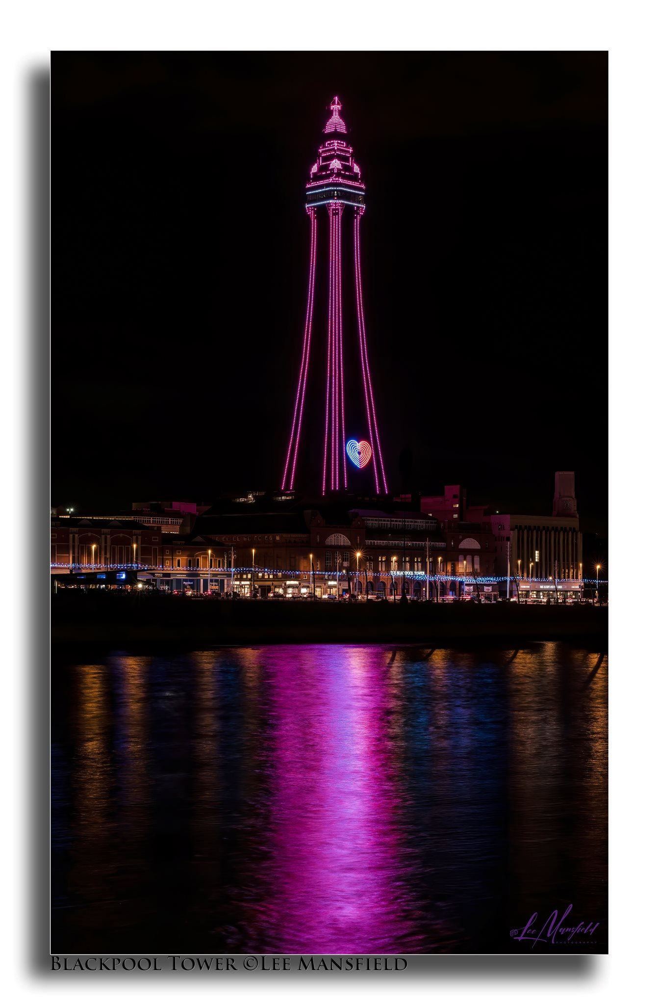 Blackpool Tower - lights fantastic