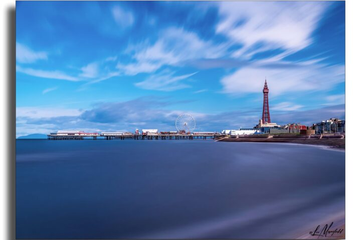Blackpool Tower - long exposure landscape version