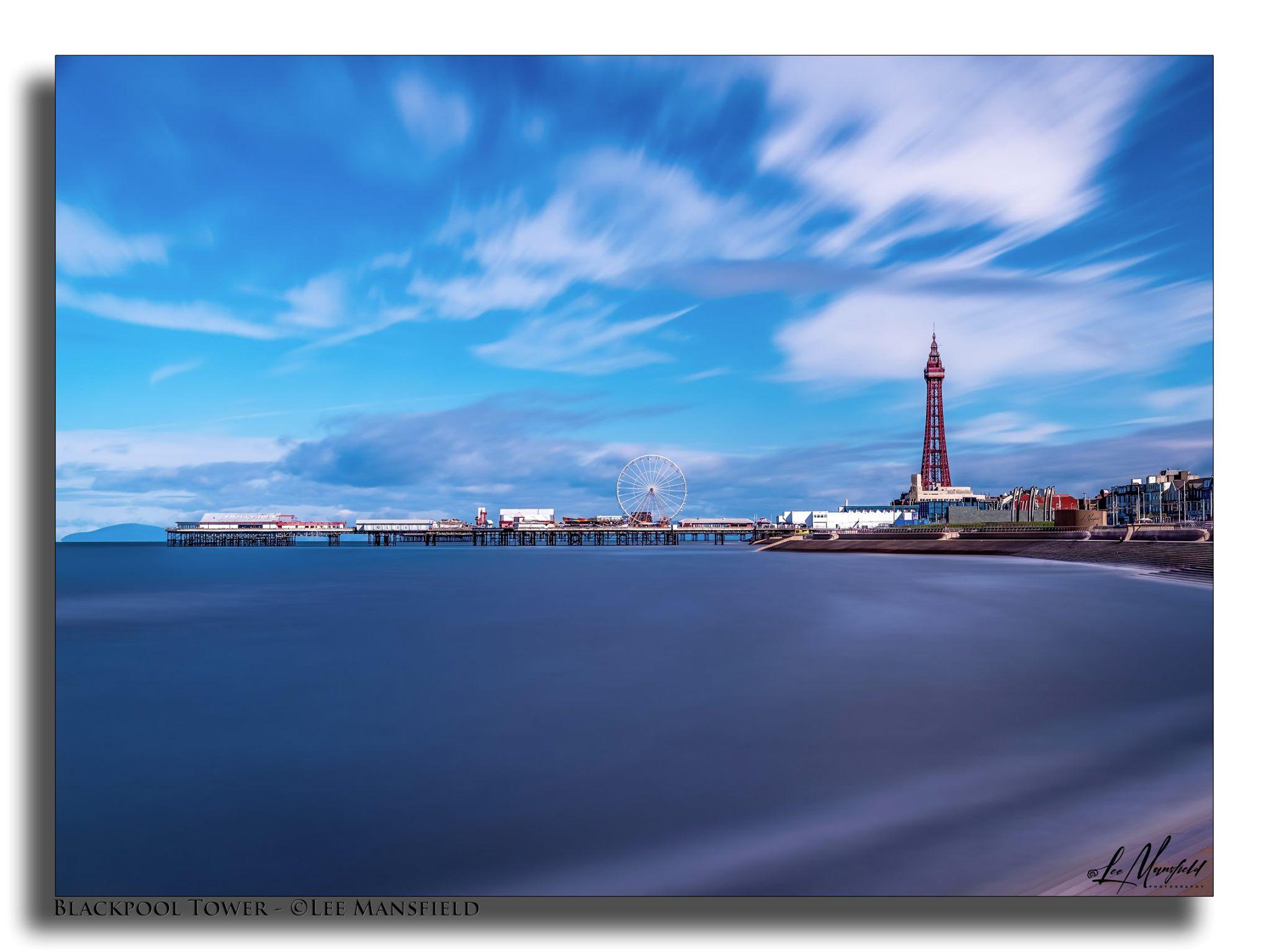 Blackpool Tower - long exposure landscape version