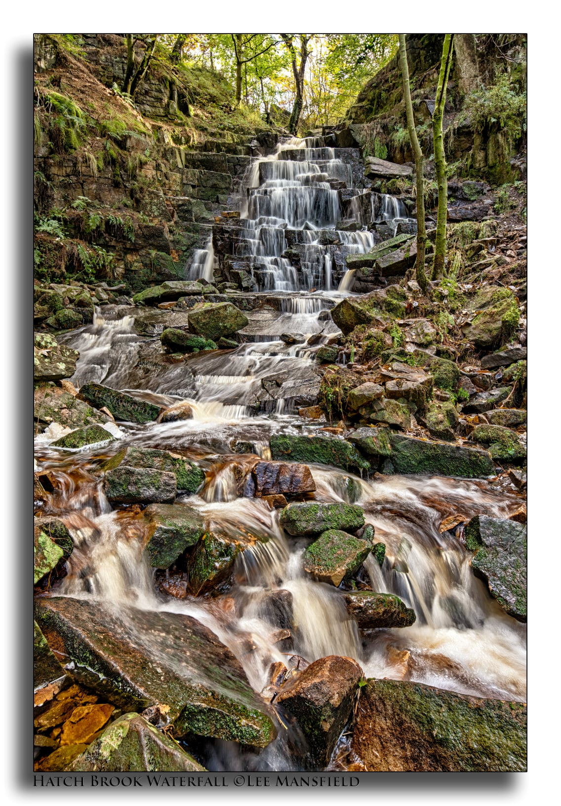 Hatch Brook Waterfall - Chorley