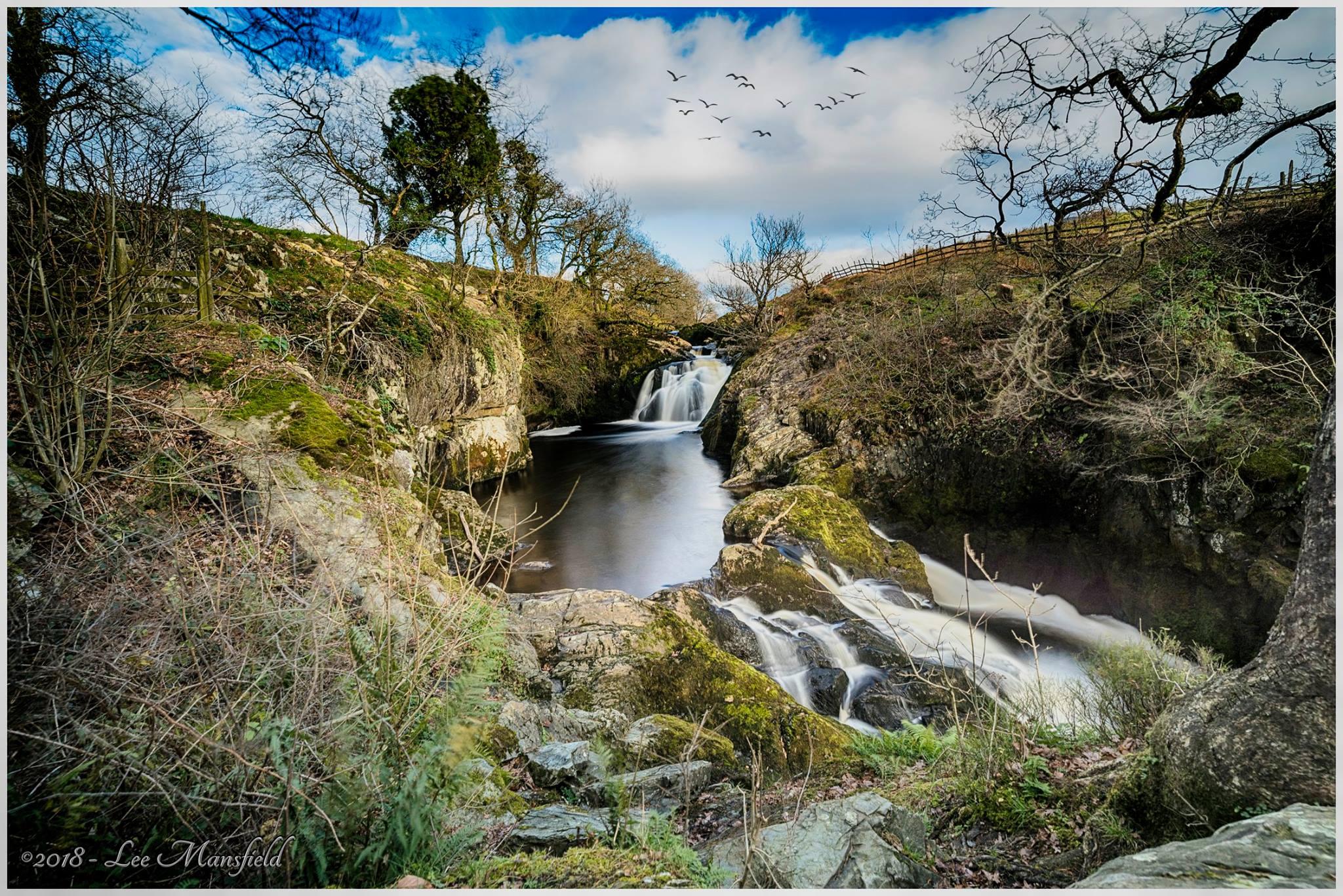 Beezley Falls, Ingleton - landscape