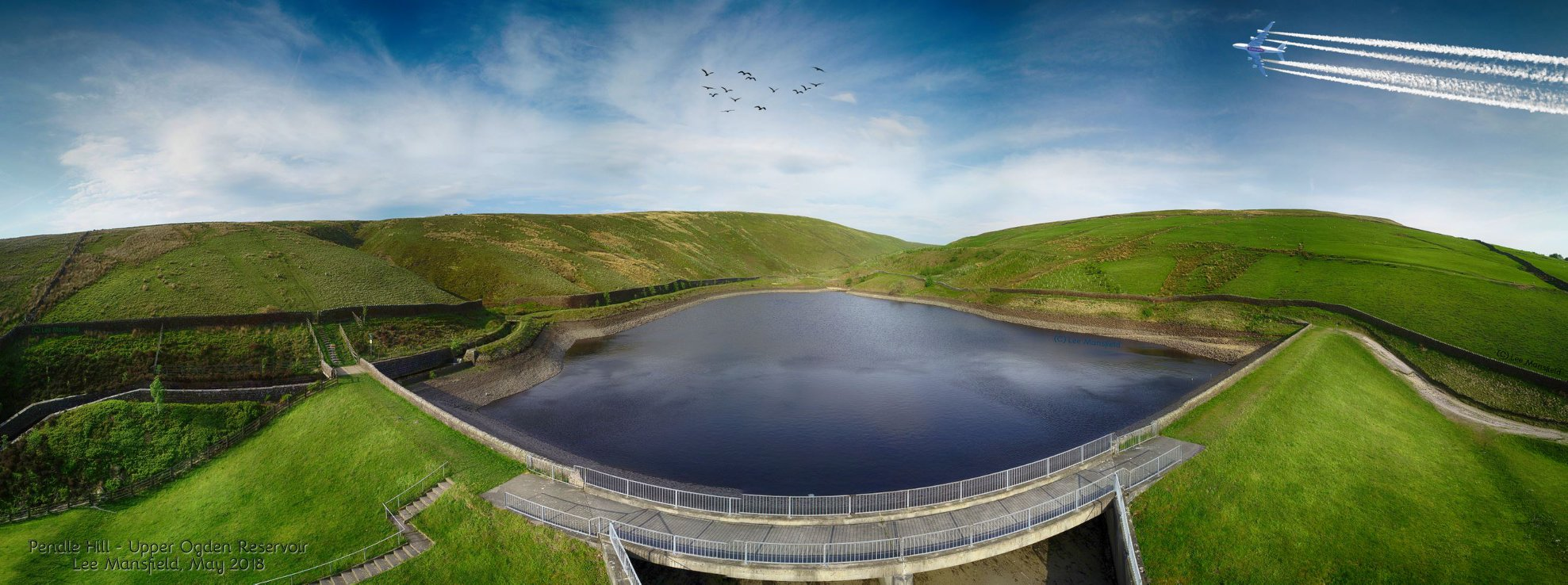 Pendle Hill - Upper Ogden Reservoir