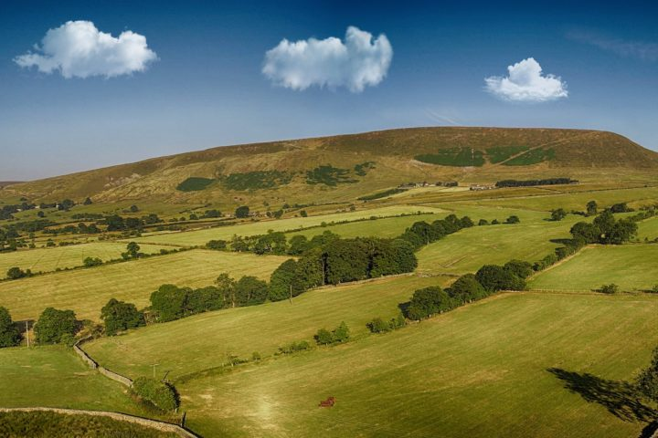 Pendle Hill, from Black Moss