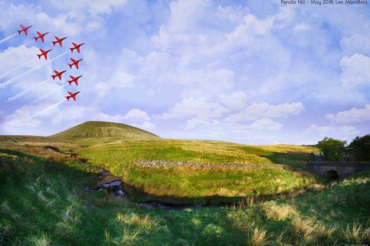 Pendle Hill vs Red Arrows (composite)