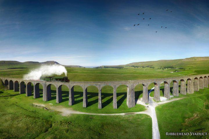 Ribblehead Viaduct - panoramic
