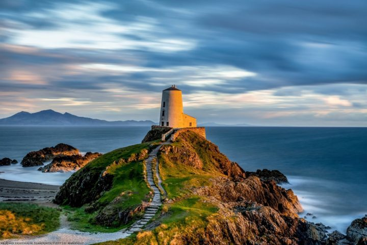 Tŵr Mawr Lighthouse, Llanddwyn on Anglesey