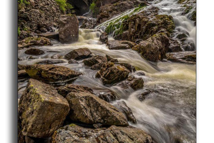 Ogwen Falls (portrait version)