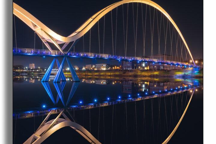 Infinity Bridge (Stockton-on-Tees) - portrait
