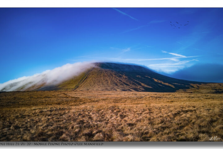 Pendle Hill - Clouds