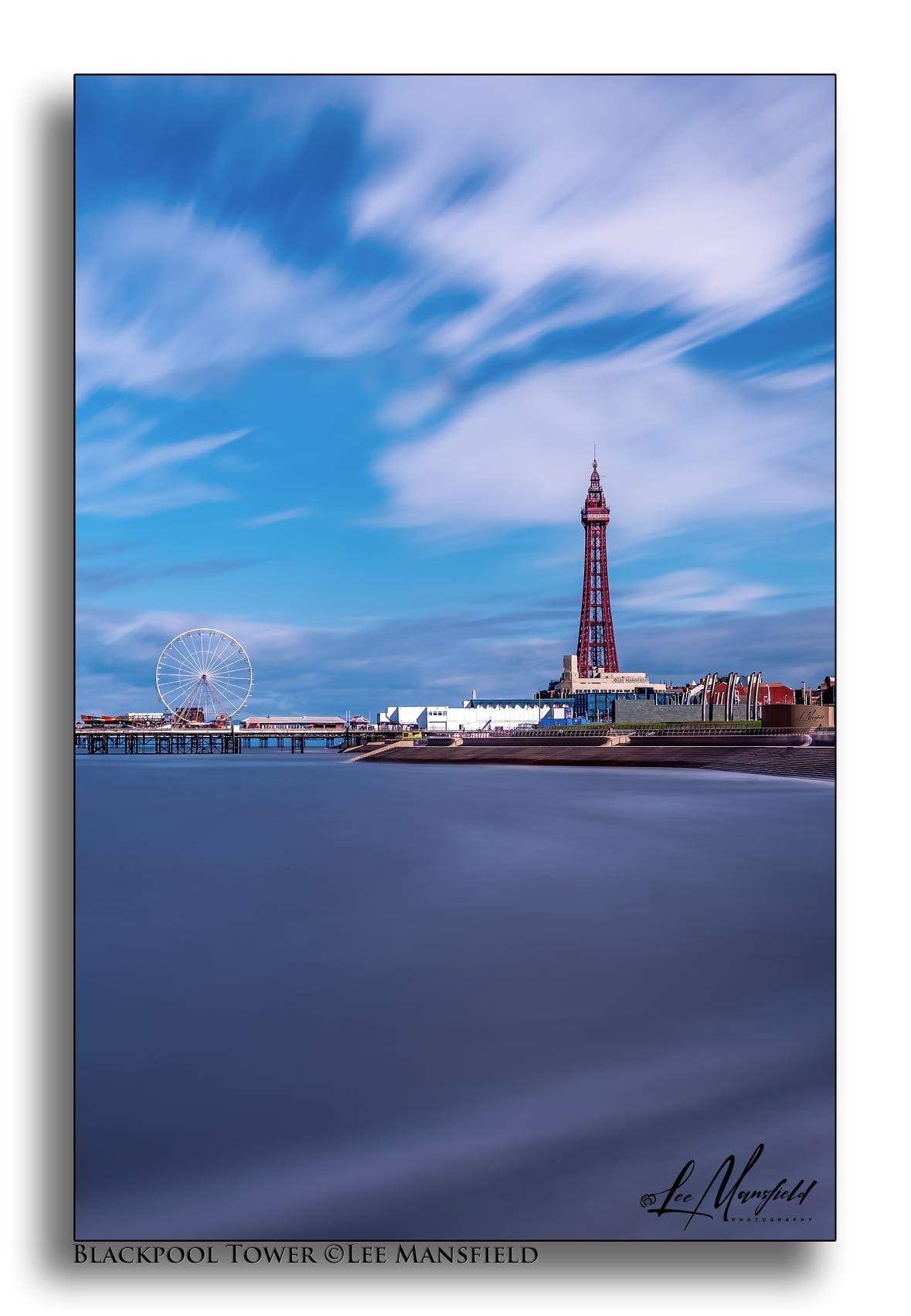 Blackpool Tower - long exposure