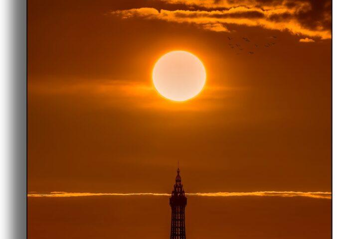 Blackpool Tower - Sunset