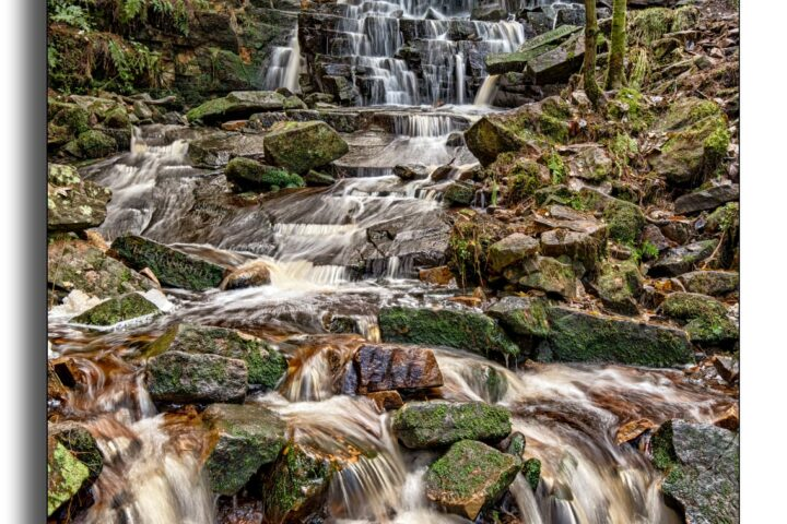 Hatch Brook Waterfall - Chorley