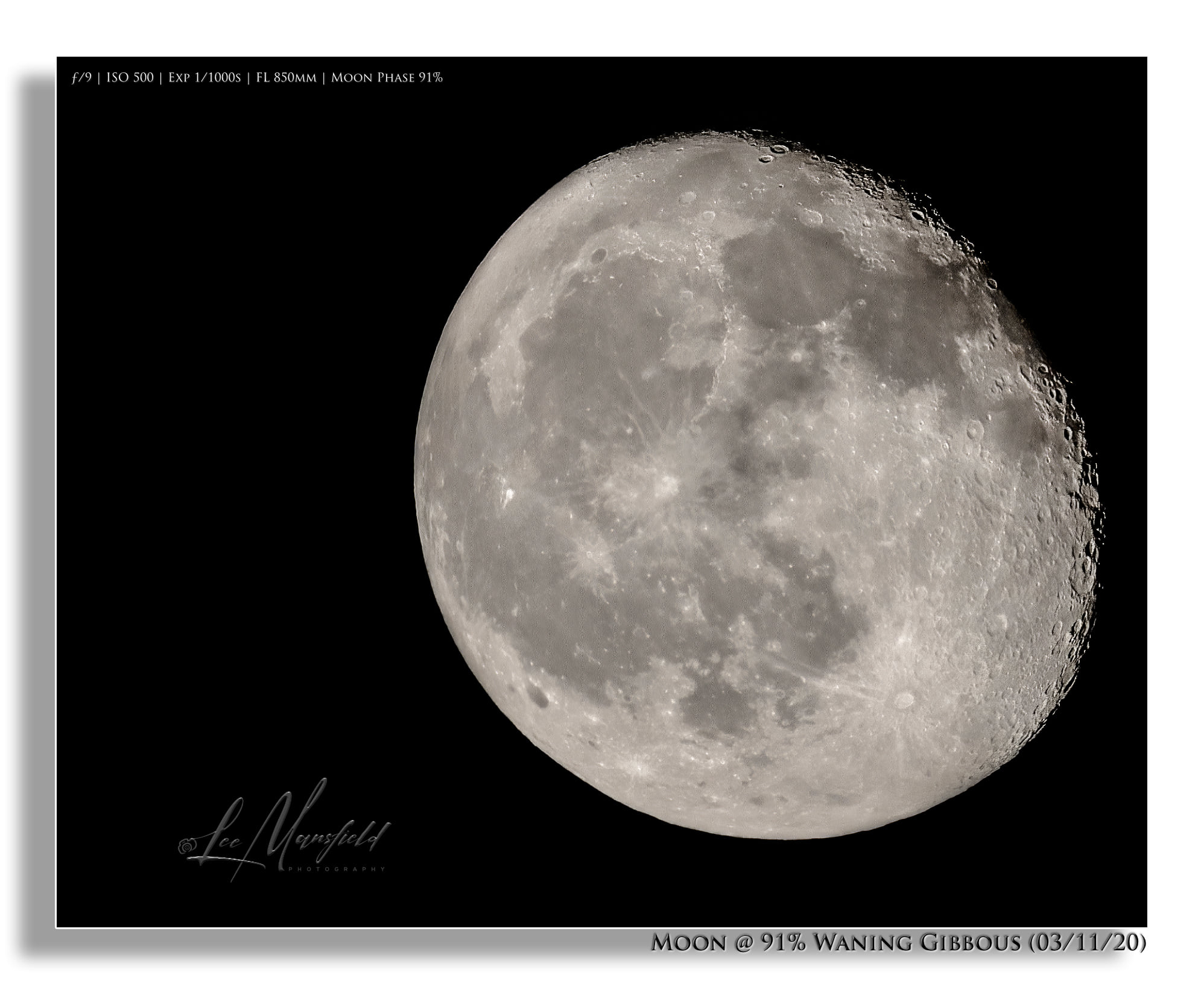 Waning Gibbous - Moon